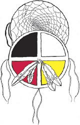 Dream catcher medicine wheel